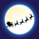 Weihnachtsmann und deers