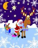 Weihnachtsmann. Weihnachten. Stockfotografie