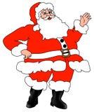 Weihnachtsmann-Weihnachtsvater stockfotos