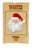 Weihnachtsmann wünschte Lizenzfreies Stockfoto