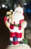 Weihnachtsmann-Zahl Lizenzfreie Stockfotos
