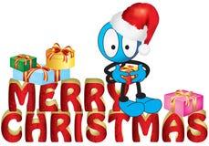 Weihnachtsmarionette Lizenzfreie Stockfotografie