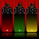 Weihnachtsmarken Stockfotos