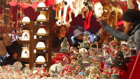 Weihnachtsmarkt stock video footage