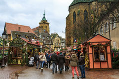 Weihnachtsmarkt Lizenzfreies Stockbild