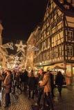 Weihnachtsmarkt Stockfotos