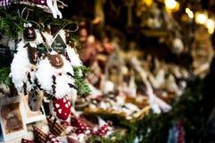 Weihnachtsmarkt Stockfoto