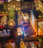 Weihnachtsmarkt in Berlin Stockbild