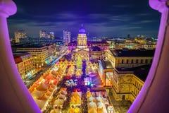 Weihnachtsmarkt in Berlin Lizenzfreies Stockfoto