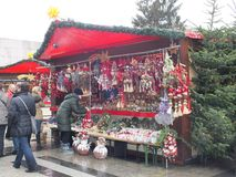 Weihnachtsmarkt in Cologne Stock Photography
