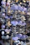 Weihnachtsmarkt Dekorationen gemacht von natürlichem Lizenzfreies Stockbild