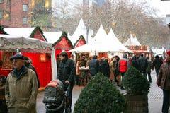 Weihnachtsmarkt in Deutschland Stockfotos