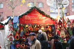 Weihnachtsmarkt in Deutschland Stockfotografie