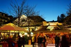 Weihnachtsmarkt Deutschland 2016 Stockfoto