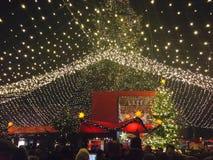 Weihnachtsmarkt in Köln Stockbilder