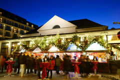 Weihnachtsmarkt-Kasino Baden-Baden 2016 Stockfotografie