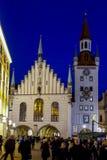 Weihnachtsmarkt in München Lizenzfreies Stockfoto