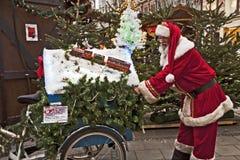 Weihnachtsmarkt in München, Deutschland Stockfotografie