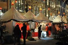 Weihnachtsmarkt in Ravensburg Stockbilder