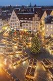 Weihnachtsmarkt in Tallinn, Estland Stockfotos