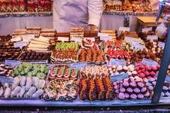 Weihnachtsmarkt in Wien Österreich Stockbild