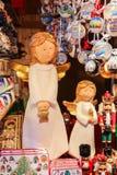 Weihnachtsmarkt in Wien Österreich Lizenzfreie Stockfotografie