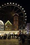 Weihnachtsmarkt in Wiesbaden stockbild