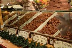 Weihnachtsmarktbonbons Stockbild
