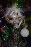 Weihnachtsmaske Lizenzfreies Stockbild