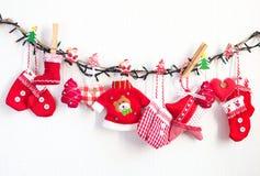 Weihnachtsmaterial Lizenzfreie Stockfotos