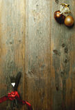 Weihnachtsmenü-Hintergrundkarte Stockfoto