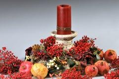 Weihnachtsmittelstück Stockbild