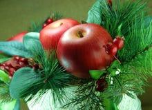 Weihnachtsmittelstück Stockfotografie