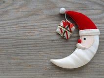 Weihnachtsmond stockbilder