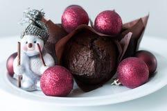 Weihnachtsmuffins Stockfotos