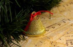 Weihnachtsmusik Stockbild
