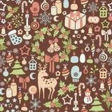 Weihnachtsmuster Stockbilder