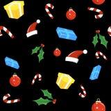 Weihnachtsmuster Lizenzfreies Stockfoto