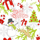 Weihnachtsmuster Lizenzfreie Stockfotografie