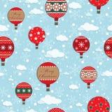 Weihnachtsmuster Stockfotografie