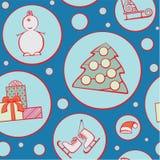Weihnachtsmuster Lizenzfreie Stockbilder