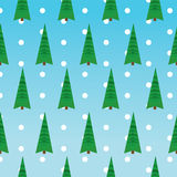 Weihnachtsmuster-Grünbäume Lizenzfreie Stockfotos