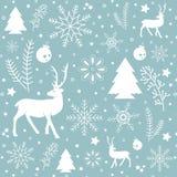 Weihnachtsmusterhintergrund Datei des Vektor EPS10 lizenzfreie abbildung