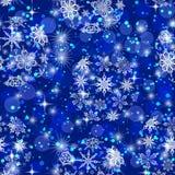 Weihnachtsnahtloser Hintergrund stock abbildung