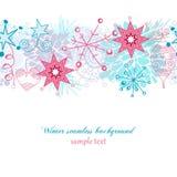 Weihnachtsnahtloser Hintergrund Stockfoto