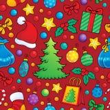Weihnachtsnahtloser Hintergrund 1 Lizenzfreies Stockbild