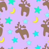 Weihnachtsnahtloser Hintergrund Lizenzfreie Stockbilder