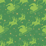 Weihnachtsnahtloses Muster. Stockfoto