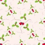Weihnachtsnahtloses Muster mit Glocken Stockbild