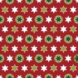 Weihnachtsnahtloses Packpapier - wiederholend Stockbilder